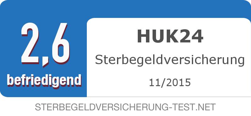 Testsiegel: HUK24 Sterbegeldversicherung width=